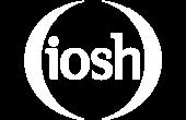 iosh-white-logo